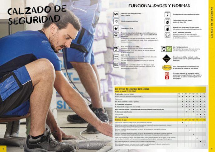 MEWA catálogo para la protección laboral
