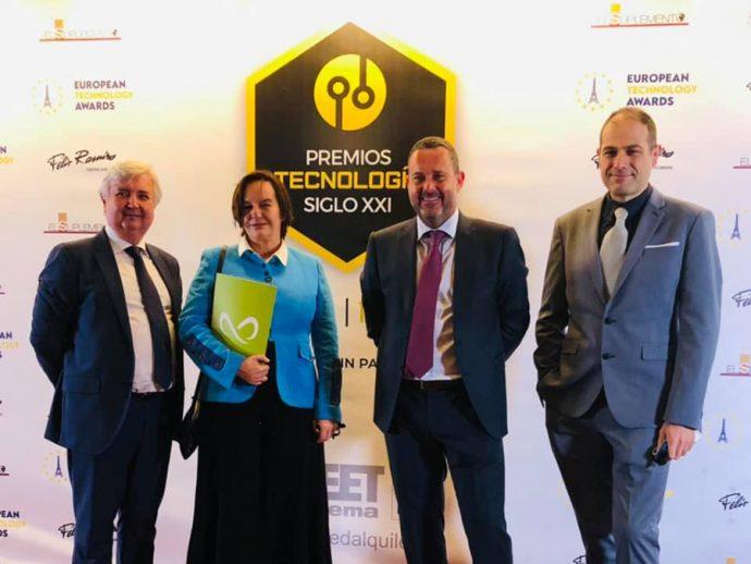 Mobius Group reconocido en los Premios Nacionales de Tecnología Siglo XXI