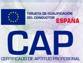Modificaciones en el CAP exigido a los conductores profesionales