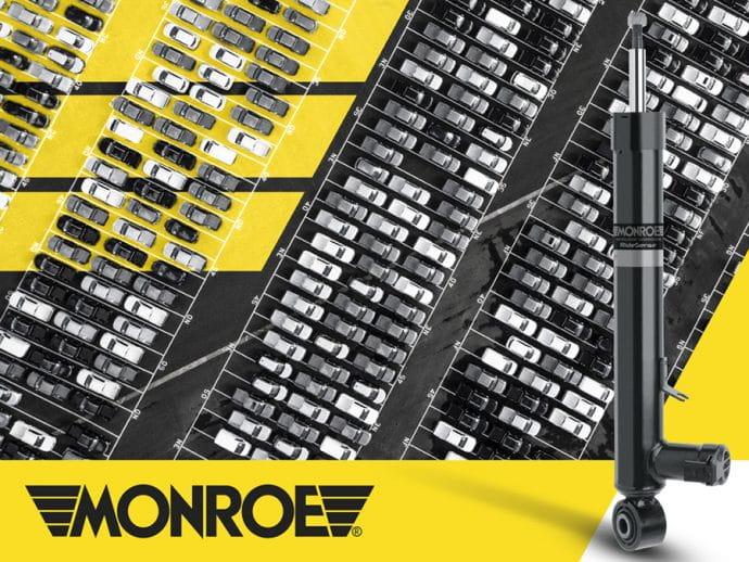 Monroe abastece mercados OE y posventa con más de 100 millones de amortiguadores