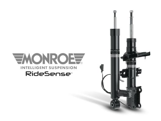 Monroe ampliación gama de amortiguadores electrónicos Intelligent Suspension RideSense para la posventa