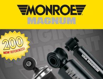 Se extiende el catálogo de amortiguadores Monroe MAGNUM