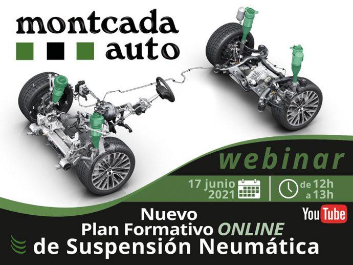 Montcada presentará en un webinar online su nuevo plan de formación de suspensión neumática