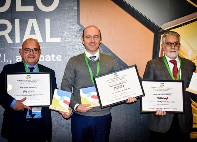 Montcada triple reconocimiento en Premios Calidad y Servicio 2019
