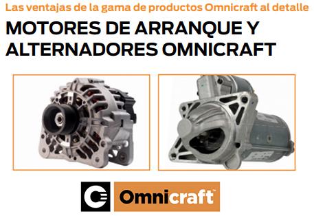 motores de arranque y alternadores Omnicraft