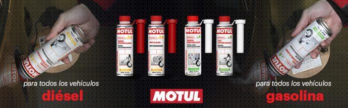 Motul aditivos motores diésel y gasolina