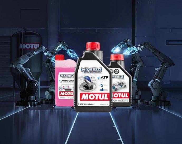 Motul gama Hybrid para vehículos híbridos