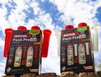 Nuevos packs Pre ITV de Motul para motores gasolina y diésel