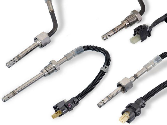 MS Motorservice ampliación gama de sensores de temperatura de gases de escape
