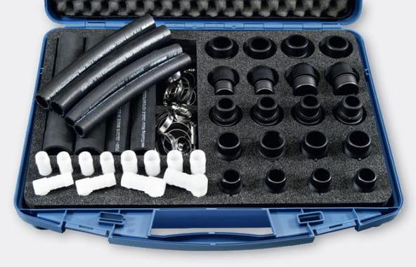 Motorservice kits reparación mangueras y tuberías para turismos y vehículos industriales
