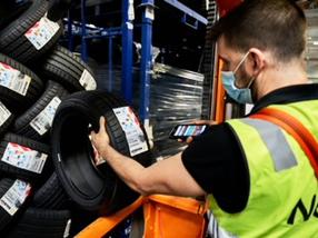 NEX nuevo almacén logístico de neumáticos en isla de Mallorca