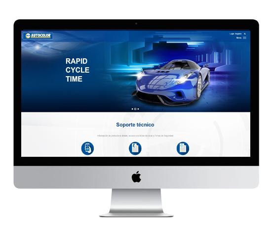 NEXA Autocolor nueva página web
