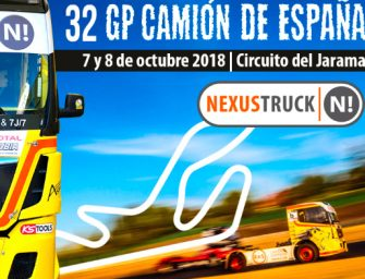 Urvi promociona Nexustruck en el 32 GP Camión de España