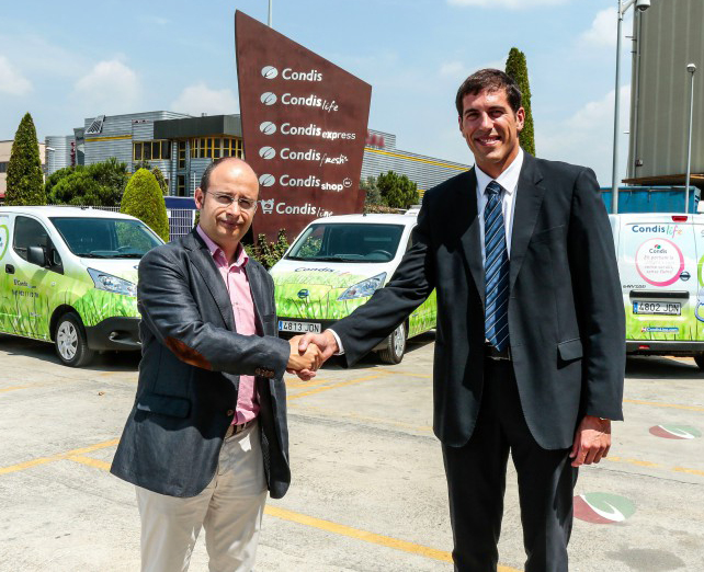 acuerdo Nissan y Condis para furgonetas eléctricas de flota