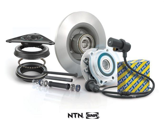 NTN-SNR presenta su completa oferta de piezas para módulo de chasis