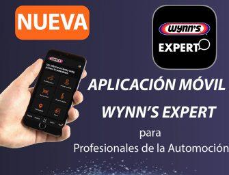 Nueva app Wynn's Expert para profesionales de la automoción