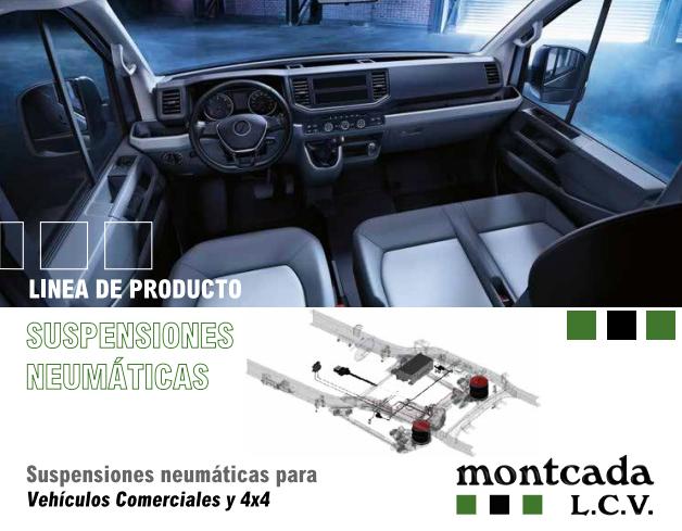 nueva línea suspensiones neumáticas LCV de Montcada Artículos Técnicos