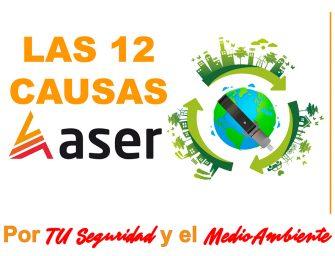 """Las """"12 Causas ASER"""" ya cuentan con su propia página web"""