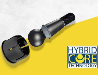 Nueva tecnología revolucionaria Hybrid Core para los rodamientos de productos MOOG