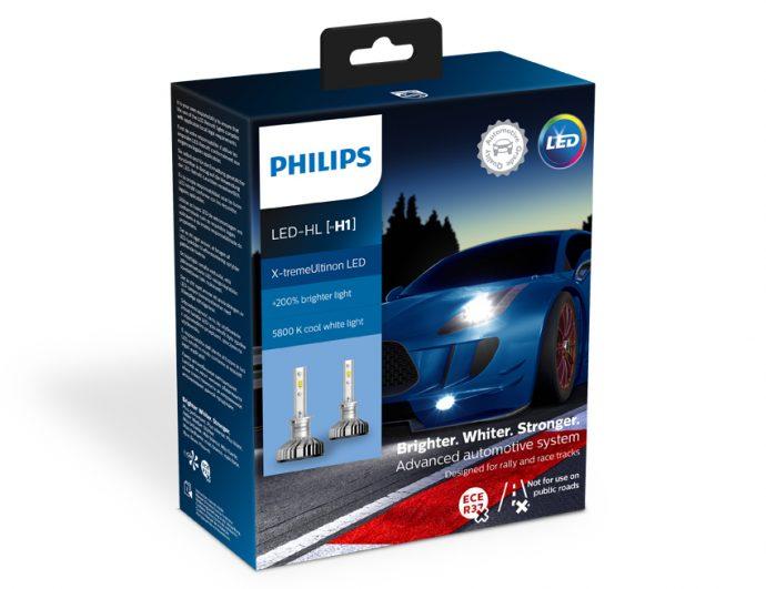 nuevas aplicaciones para la gama LED X-tremeUltinon de Philips