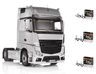 Nuevas lámparas de repuesto para camión LEDriving HLT de Osram