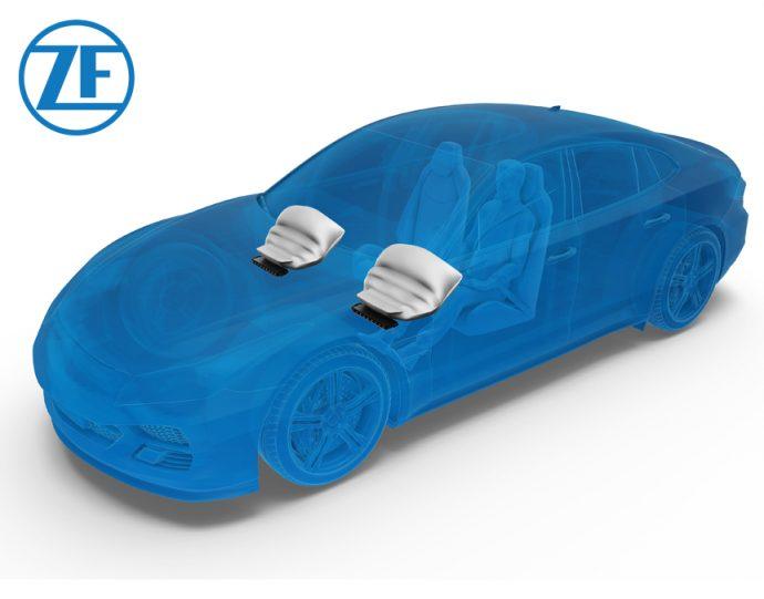 nuevo airbag de rodilla de ZF