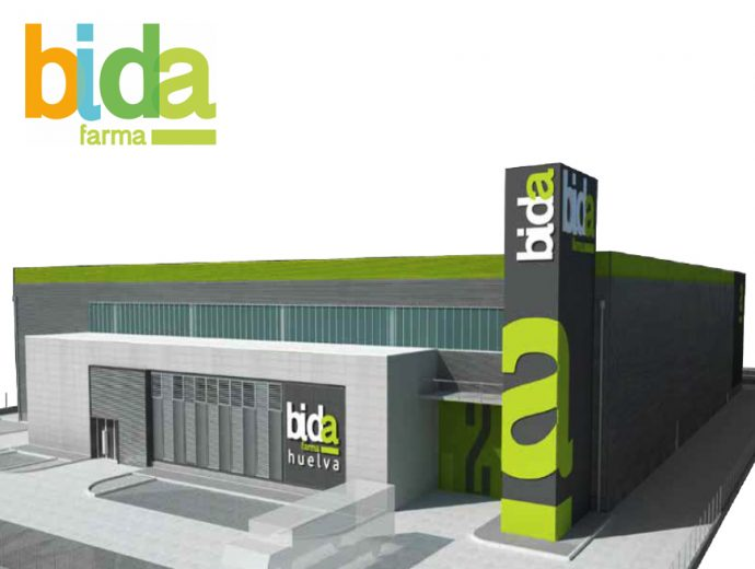 nuevo almacén Bidafarma en Huelva