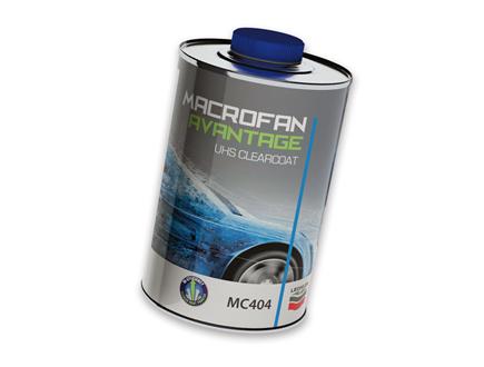 nuevo barniz UHS MC404 Macrofan Avantage de Lechler