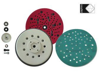 Zaphiro presenta nuevos discos abrasivos y platos multiperforados