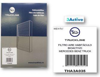 Urvi incorpora filtros de habitáculo a su marca exclusiva Truckline