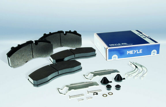 nuevos forros de freno Meyle-PD para vehículos industriales