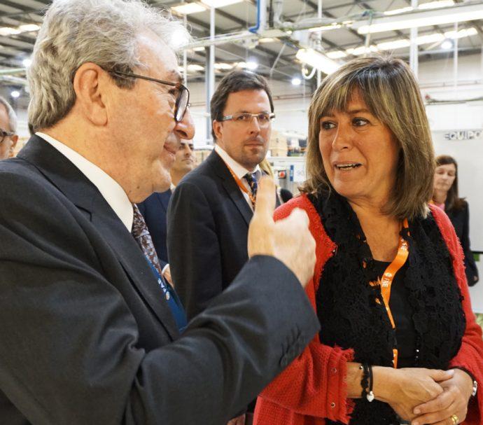 Nuria Marín visita FAE