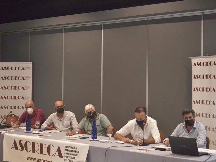 octava Asamblea General Ordinaria y Electoral Anual de Asoreca CETRAA Cádiz