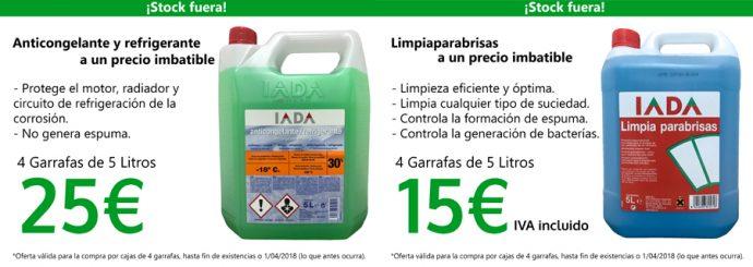 Oferta Castelao productos químicos IADA