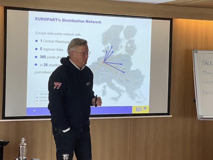 Olaf Giesen CEO de EUROPART