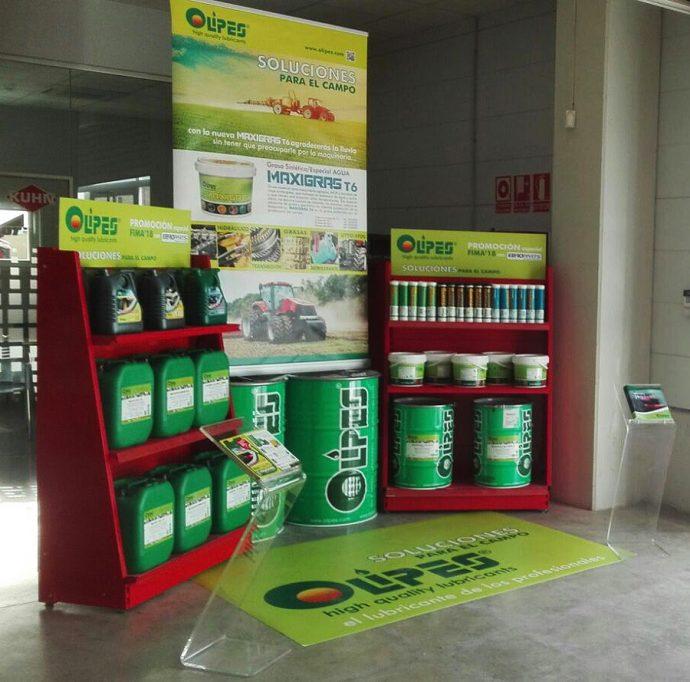 Olipes promoción Egroparts FIMA 2018