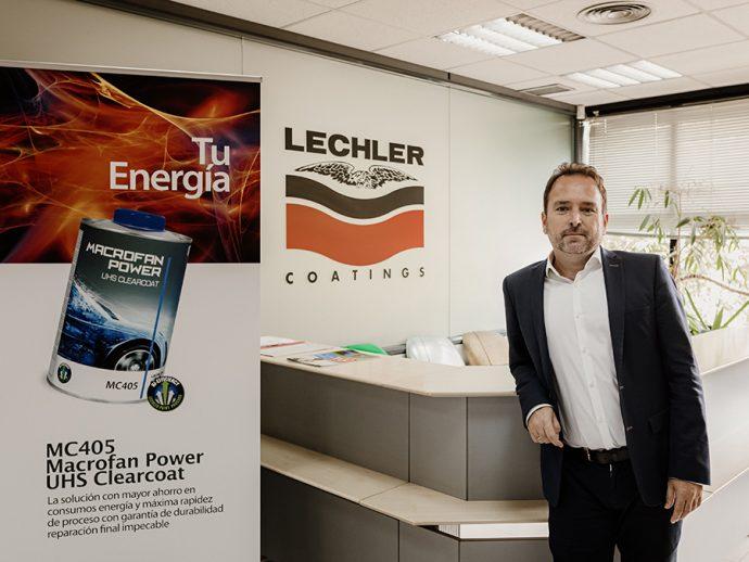 Oscar Sánchez jefe de Ventas y Marketing de Lechler Coatings Ibérica