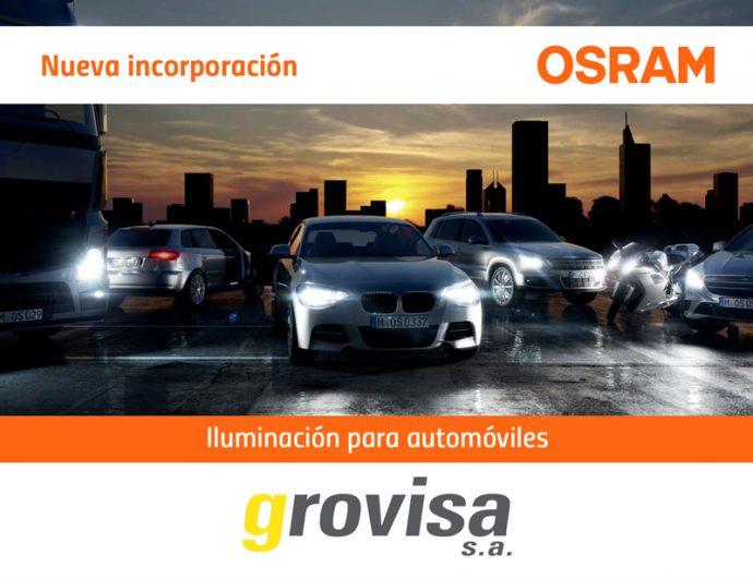 Osram es nuevo proveedor de iluminación de Grovisa