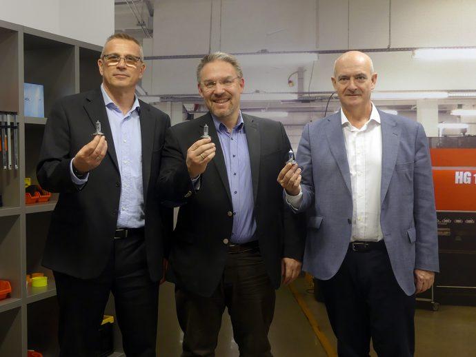 Joer Bauer, Victor Almenara y Davide Meinardi