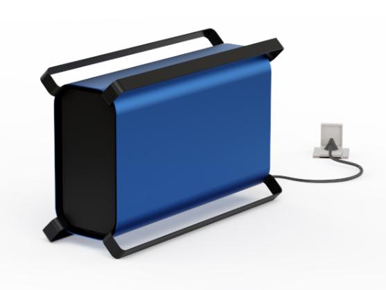 Pacar Lion generador de ozono para grandes superficies