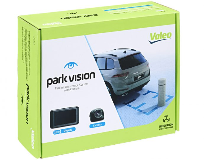 park vision sistemas de ayuda al aparcamiento de Valeo