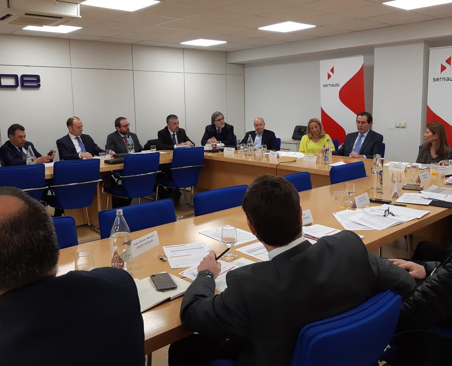 participación Antonio Garamendi Junta Directiva Sernauto