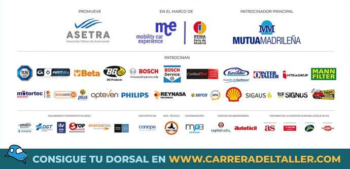 patrocinadores X Carrera del Taller