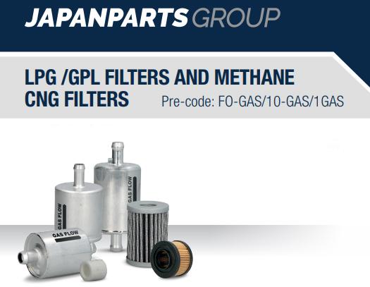 Pemebla distribuidor filtros GLP y CNG Japanparts