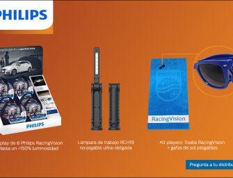 Philips prepara a sus clientes para el verano con la campaña RacingVision