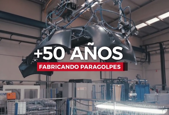 parachoques Phira 50 años