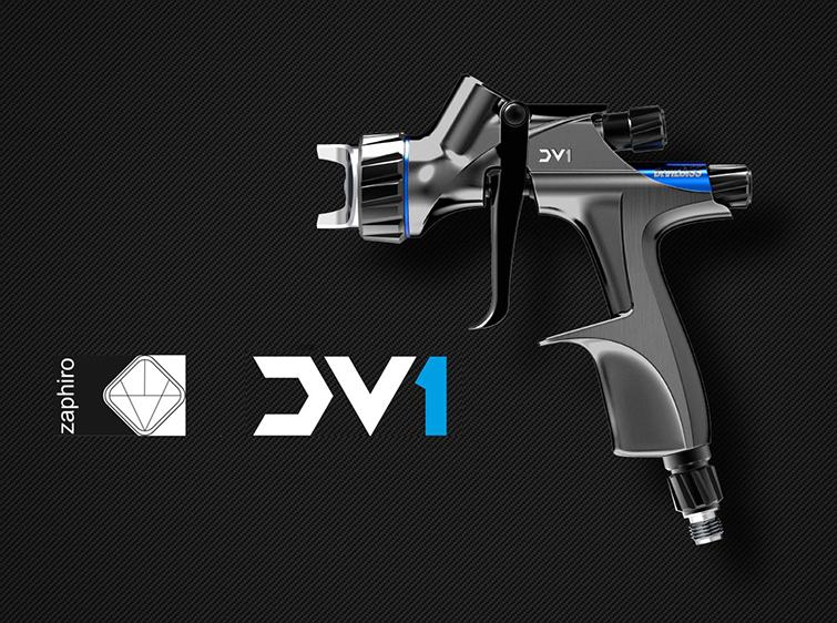 pistola DV1 zaphiro devibiss