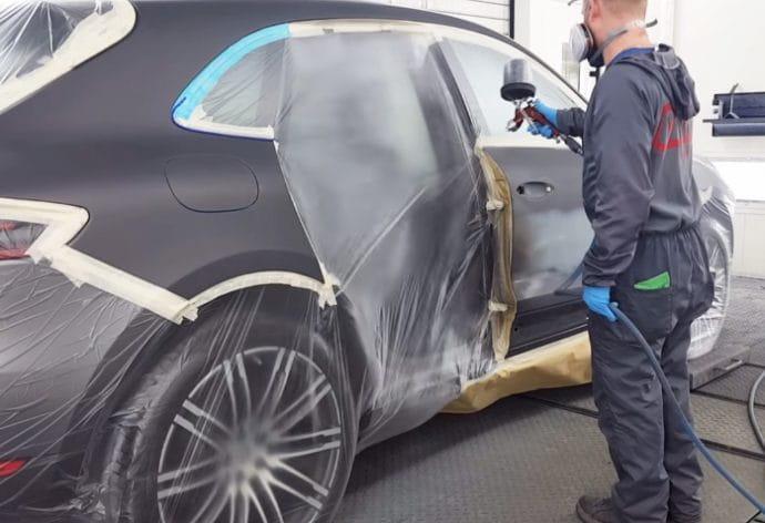 Porsche homologación marcas pintura Axalta
