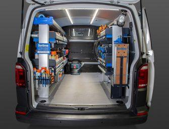 Equipamiento para vehículos comerciales y furgonetas: comodidad y seguridad en circulación