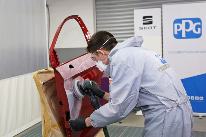 PPG Refinish pruebas International Top Seat People